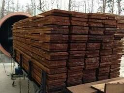 Термически обработанная древесина