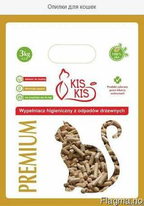 Woody hygiene filler for cats / Древесные гранулы для кошек