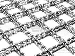 Crimped steel wire mesh and products made of it - photo 1