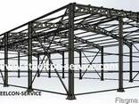 Frame steel halls - photo 2