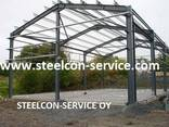 Container, frame steel halls - фото 2