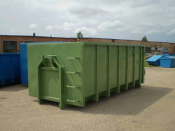 Krok container, Skip, Roll-on Roll-off