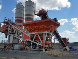 MVS 60M 60m3/hour Mobile Concrete Batching Plant - фото 7