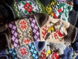 Носки шерстяные круговой вязки отличного качества из ангорки качество супер