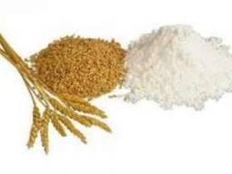 Предлагаем муку 4-х видов / We offer 4 types of flour