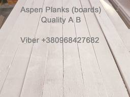 Sell sawn timber, edged planks, blanks Aspen - фото 3
