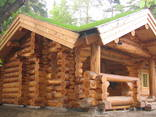 Срубы домов из кругляка - photo 7