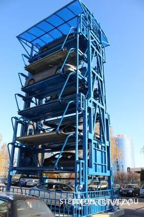 Subcontract works parking, steel halls