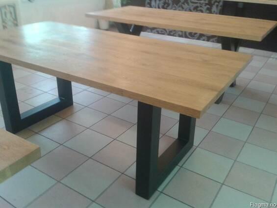 Tables of oak