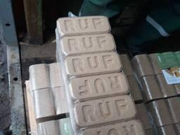 Топливные древесные брикеты RUF из дуба