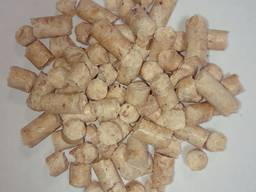 Wood fuel pellets, 8 mm, premium