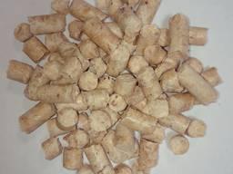 Wood fuel pellets, 8 mm, premium - photo 1